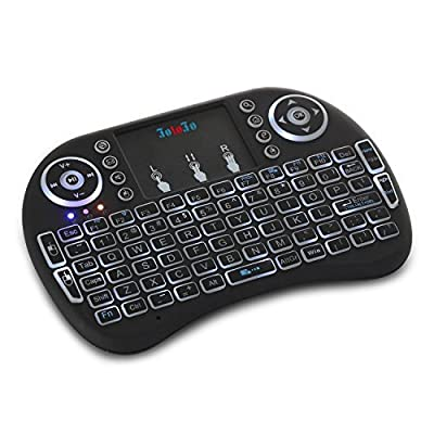 FotoFo Wireless backlit 2.4GHz Keyboard with Mouse Touchpad Remote Control or Google Android Tv Box,Pc, Pad, Xbox 360, Ps3, Htpc, Iptv Other Games