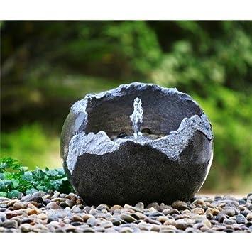 Welland Fractured Stone Outdoor Indoor Modern Water Fountain