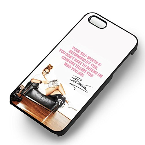 Unique Beyonce Quote Sign for Cover Iphone 5 or Cover Iphone 5S or Cover Iphone 5SE Case (Black Hardplastic Case) N3X9CD