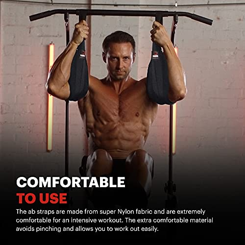Perfect Pull Up Pullup Exercise Fitness Abs Ab Straps Abdominal Crunch Workout 1