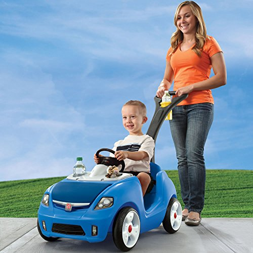 Step2 Whisper Ride Ii Ride On Push Car Blue Buy Online