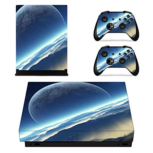 Game Kingdom Hearts 3 Faceplates Skin Console & Controller Decal Stickers for Xbox One X Console + Controller Skin Sticker,YSX1X0288