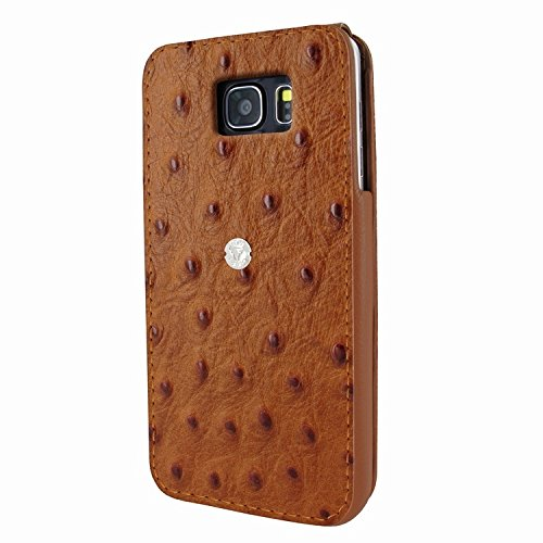 Piel Frama 721 Tan Ostrich iMagnum Leather Case for Samsung Galaxy Note 5 by Piel Frama (Image #2)