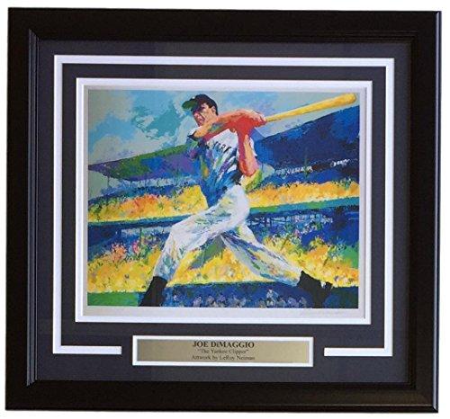 - Leroy Neiman Framed 10x13 Joe DiMaggio Yankee Clipper Baseball Print