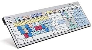 LogicKeyboard LKB-CBASE-AJPR-DE Cubase/Nuendo - Teclado inalámbrico