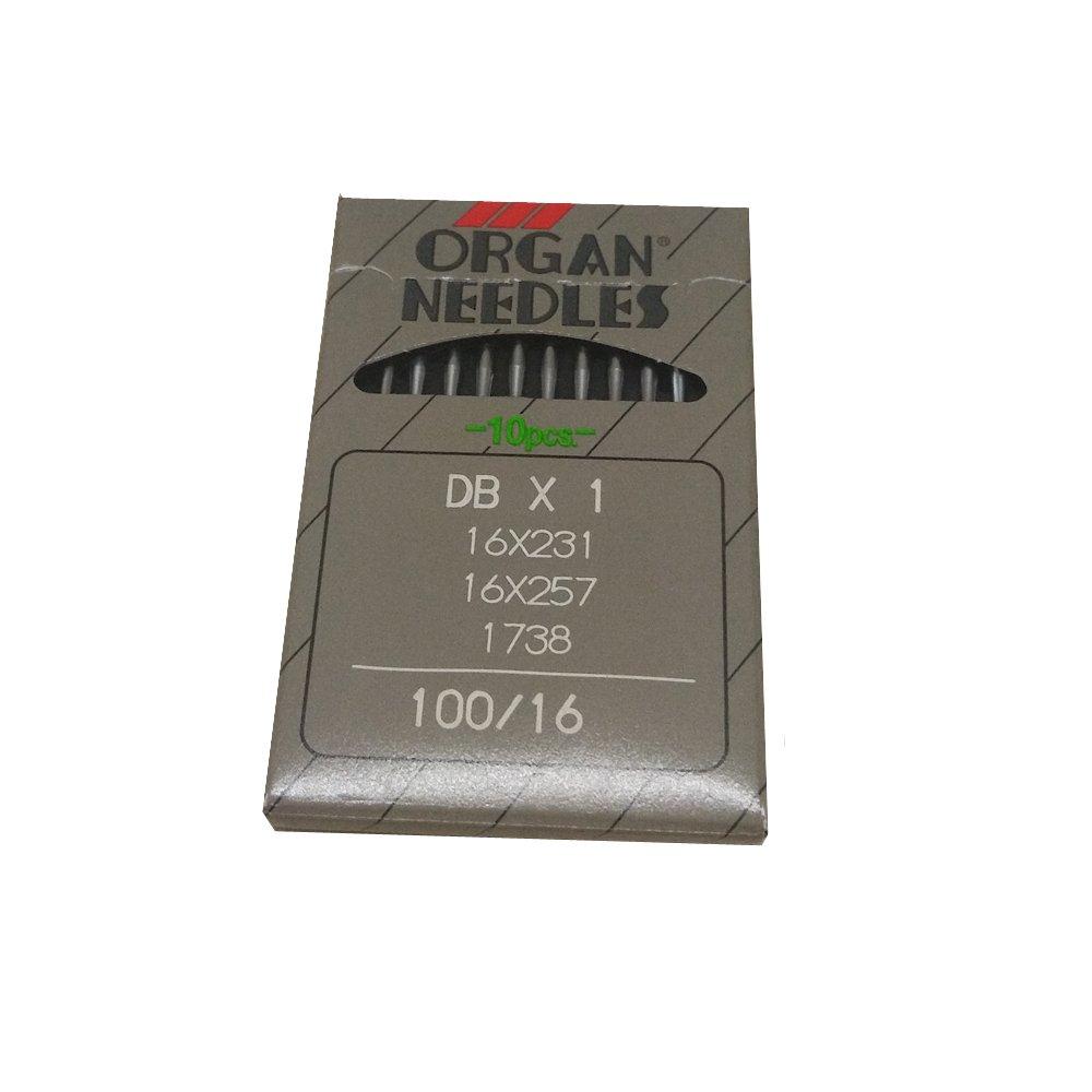 DBX1 16X231 16X257 1738 DBX1 90//14 YICBOR Industrial Lockstitch Sewing Needles for Organ 5Sizes to Choose