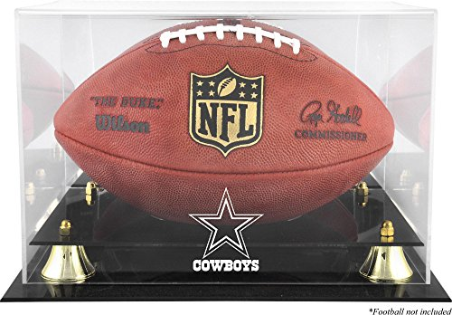 Mounted Memories Dallas Cowboys Team Logo Football Display Case ()