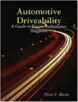 Book Automotive Driveability: A Guide to Engine Performance Diagnosis