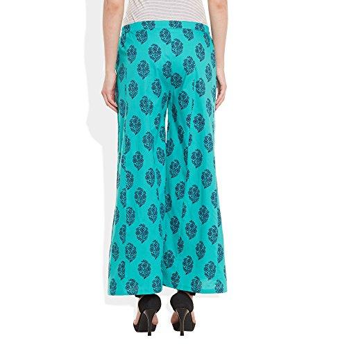 ShalinIndia - Pantalón - para mujer TURQUOISE 1