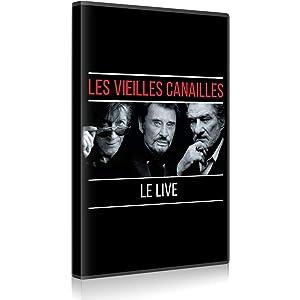 LES VIEILLES CANAILLES - L'ALBUM LIVE  (DVD)