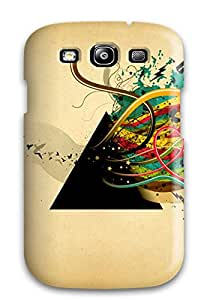 Jessillers Galaxy S3 Well-designed Hard Case Cover Funky Wall Art Protector