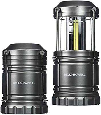 Bell + Howell Taclight Lantern COB LED, Collapsible As Seen On TV (Pack of  2)
