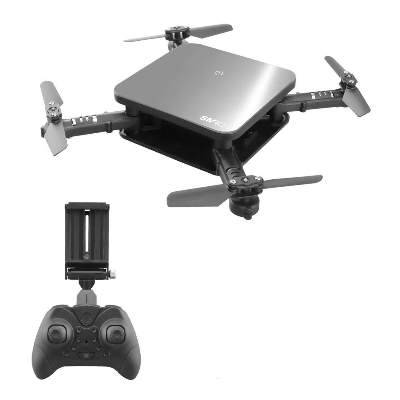 Ballylelly Drone con cámara, SMRC S1 Plegable Quadcopter Mini Wi-Fi RC Drone con cámara 720P Altitude Hold Modo sin Cabeza Sensor de Gravedad App Control