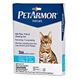 PETARMOR Flea & Tick Treatment for Cats with Fipronil (Over 1.5 Pounds) - 3 Monthly Applications