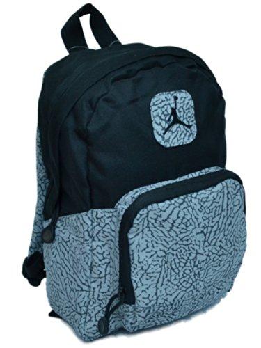 d8f1971dc268b3 Nike Air Jordan Mini Backpack in Black and Gray for Toddler or Preschool  Boy or Girl - Buy Online in UAE.