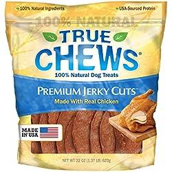 True Chews Premium Jerky Cuts Dog Treats, Chicken Tenders, 22 Ounce