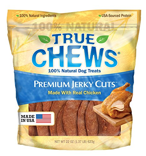 - True Chews Premium Jerky Cuts Dog Treats, Chicken Tenders, 22 Ounce