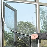 Magnetic Mosquito Net for Window Mosquito Net with Velcro for Insect Protection Window Curtain for Window 150x130cm