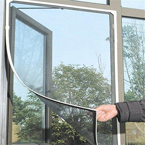 Moustiquaire magné tique pour moustiquaire de fenê tre avec Velcro pour la fenê tre de protection d'insecte rideau pour la fenê tre 150x130cm Ndier
