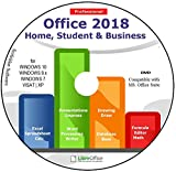 Software : Office Suite 2018 Home Student and Business for Microsoft Windows 10 8.1 8 7 Vista XP 32 64bit| Alternative to Microsoft Office 2016 2013 2010 365 Compatible with Word Excel PowerPoint ⭐⭐⭐⭐⭐