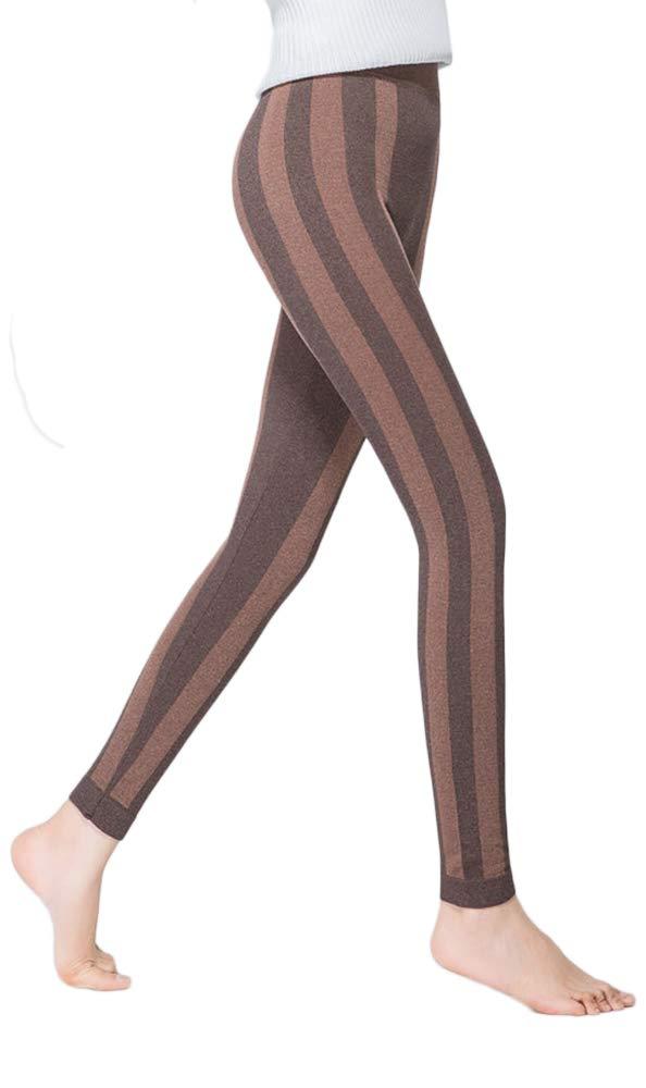 DoreKim Slim Fit Yoga Pantalones de cintura alta Tummy Control Sport Leggings Gradient PJ Bottoms DK2026+8