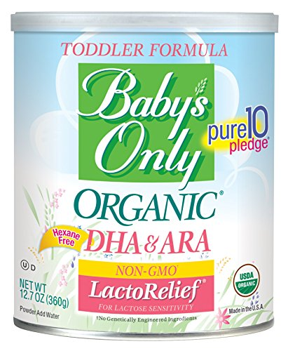 Image of the Baby's Only Organic LactoRelief with DHA & ARA Toddler Formula, 12.7 Ounce (Pack of 6)