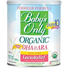 Baby's Only Organic LactoRelief with DHA & ARA Toddler Formula