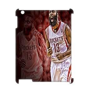 LSQDIY(R) James Harden iPad2,3,4 Custom 3D Case, High-quality iPad2,3,4 3D Case James Harden