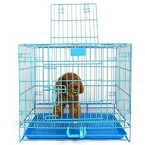 QINGCHUNSUIYUE Jaula Plegable del Perro del Conejo de los Gatos ...