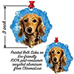 mmandiDESIGNS Dogs Christmas Tree Stocking Metal Ornaments Printed on Both Sides an Image of Your Favorite Family Pet Gift for Dog Mom Dad Owner (Bull Terrier) 7