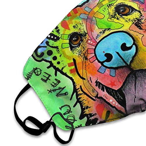 SGHGSAxbh Dean Russo Art Face Mask Dust Mask Anti Pollution Face Mask Washable Cotton Mouth Mask Men and Women for All Ages