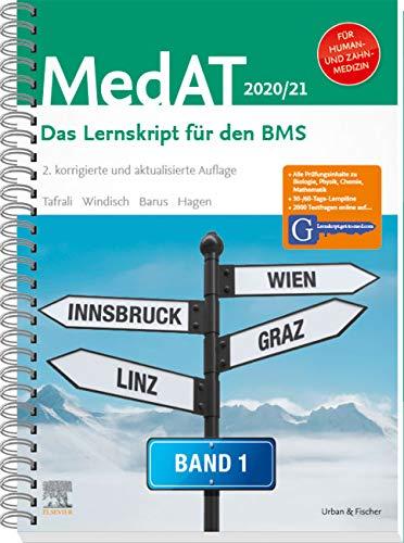 MedAT Humanmedizin Zahnmedizin 2020 2021  Band 1  Das Lernskript Für Den BMS   Mit Zugang Zu Lernskript.get To Med.com