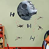 """Death Star Battle - REAL BIG Fathead Wall Graphics Assorted on a 4'4"""" x 6'7"""" sheet"""