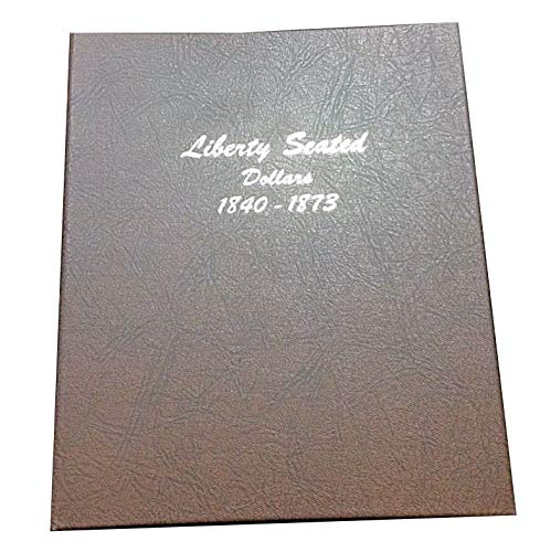 Dansco Liberty Seated Silver Dollars Album #6171