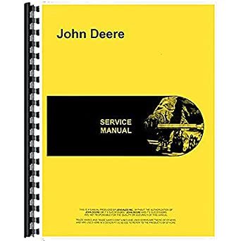 amazon com new john deere 135 power unit service manual industrial rh amazon com john deere 135 manual john deere 125 manuals download