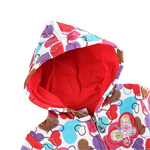 7e5e21c213e5 David Nadeau Children Clothes Hoody Girls Winter Coat Outwears Baby ...
