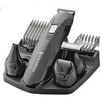 Remington PG6030 Edge - Kit multifunción inalámbrico, seis cabezales, cuchillas de acero