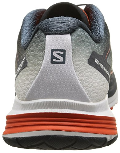 Salomon Men's Sense Propulse Running Shoes Multi (Deep Blue/Grey Denim/Rd) lAxi68
