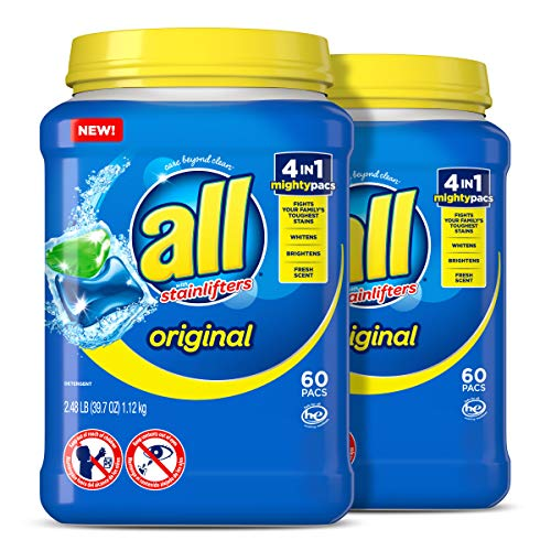 🥇 all Mighty Pacs Laundry Detergent