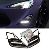 iJDMTOY OEM Fit 6-LED High Power LED Daytime Running Lights DRL Kit For 2013-up Scion FR-S FRS