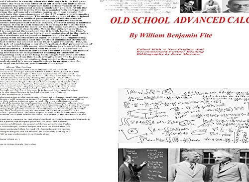 Old school advanced calculus ebook william benjamin fite karo old school advanced calculus by fite william benjamin maestro karo fandeluxe Image collections