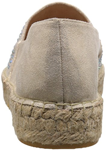 Flach Rund Mountain Espadrille Frauen Harmonize White Metallic Pumps Gold IYqv6Bw