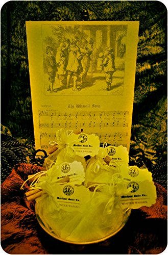 Collection Wassail (Winter Wassail Mulling Spices from the Gift Set Collection by Merchant Spice Co. (3 mulling spice bags))