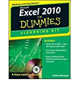 Excel 2010 Elearning Kit for Dummies (For Dummies (Computers)) Wempen, Faithe ( Author ) Jan-10-2012 Paperback