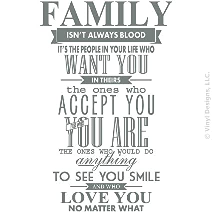 Best 50+√ Family Is Not Always Blood Quotes ...