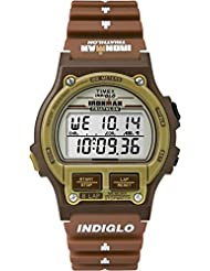 Timex Ironman Triathlon | Original 8-Lap Timer Brown Resin | Sport Watch T5K842