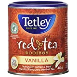 Tetley Tea Rooibos Vanilla (Red-Tea), 20 -Count