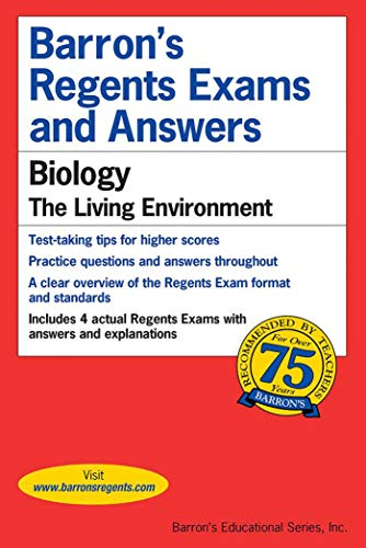 Pdf Science Barron's Regents Exams and Answers: Biology