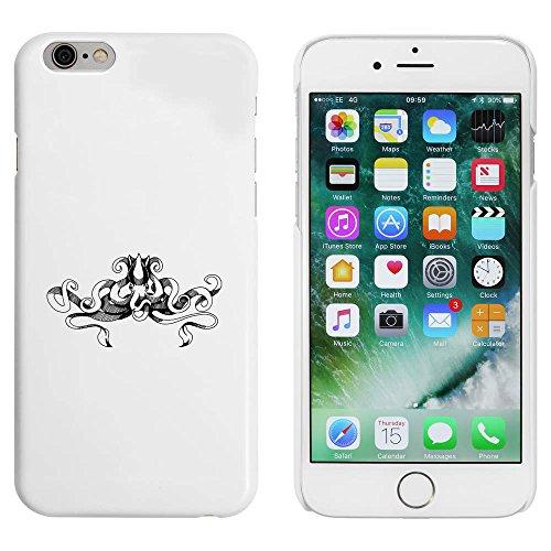 Blanc 'Poulpe' étui / housse pour iPhone 6 & 6s (MC00031350)