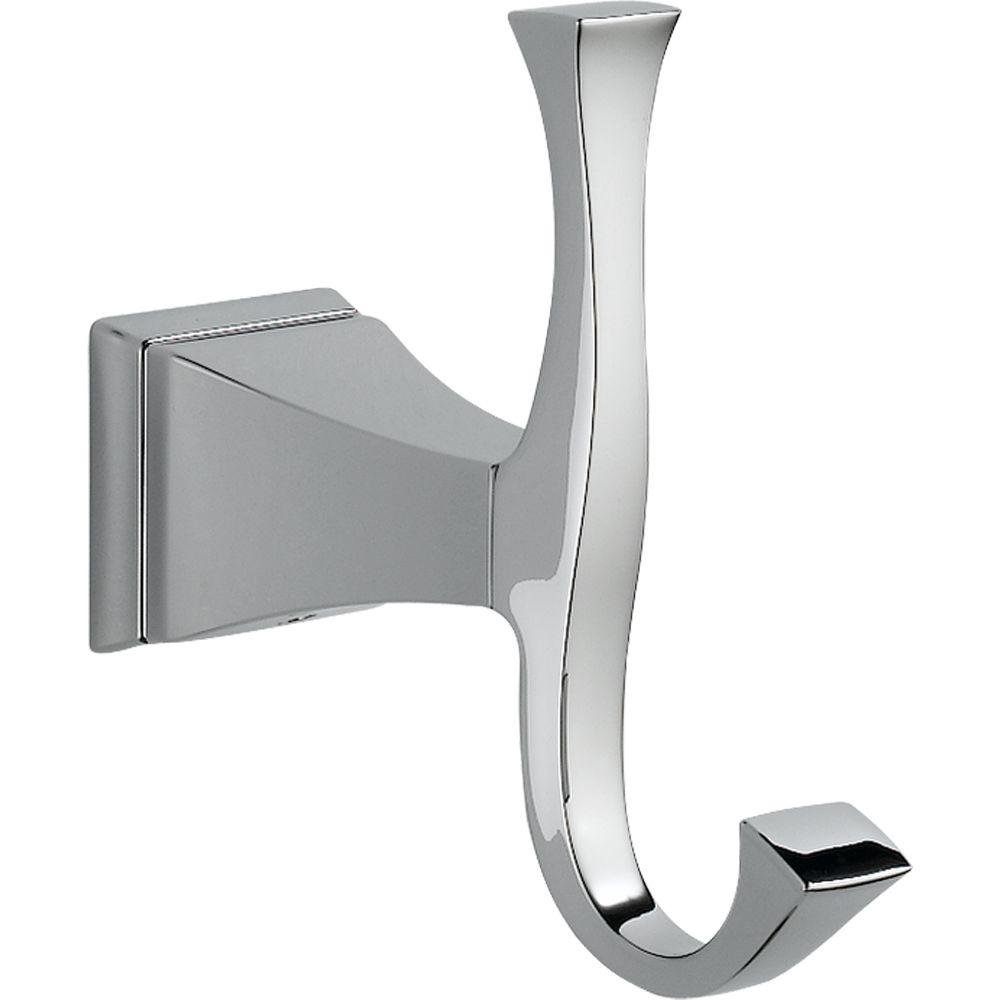 delta faucet 75135 dryden robe hook chrome delta faucet dryden accessories chrome amazoncom - Bathroom Accessories Delta